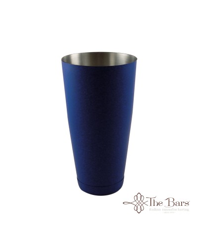 Shaker Cocktail Bilanciato Blu Elettrico 28oz The Bars