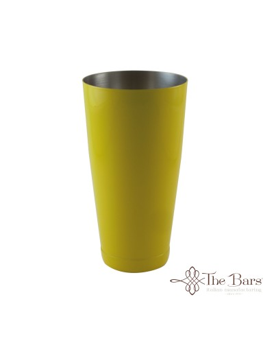 Shaker Bilanciato Giallo da 84 cl Mixing Tin per Cocktail The Bars