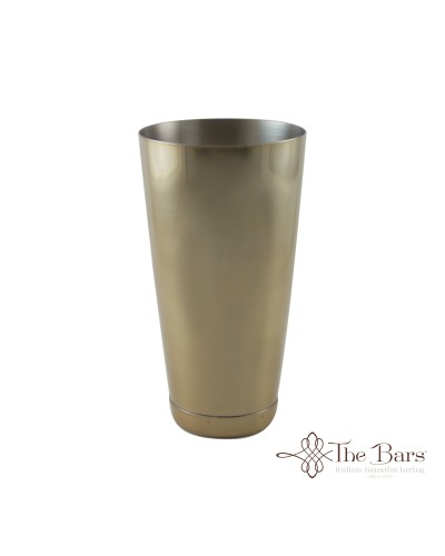 Shaker Tin Cocktail Bilanciato Oro 84 cl The Bars