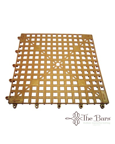 Tappetino Bar Componibile Rame 33x33 cm The Bars
