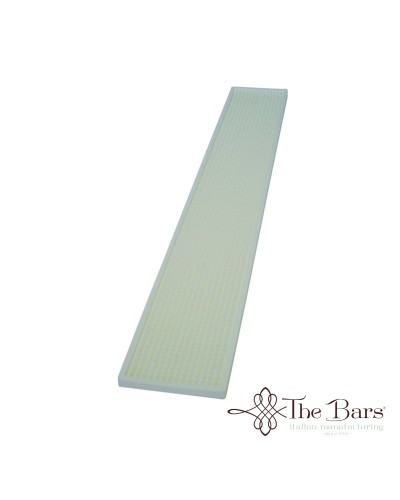 Tappetino Bicchieri Bar Bianco 70x10 cm The Bars
