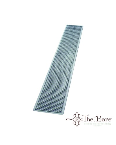Tappetino Bicchieri Bar Argento 70x10 cm The Bars