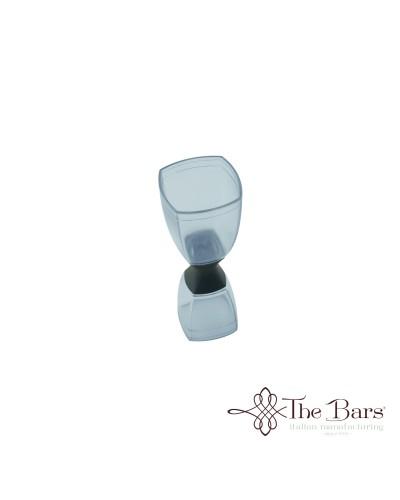 Pro Jigger Clear Plastica Trasparente 25-50 ml The Bars
