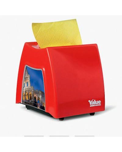 Dispenser Tovaglioli Value Bar Rosso Carind