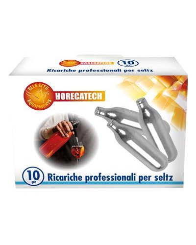 Cartucce Sifone Seltz Soda da 10 pz Horecatech