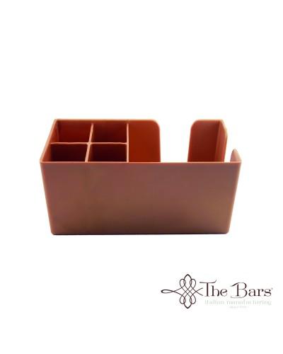 Dispenser da Banco Bar Porta Tovaglioli e Cannucce Rame The Bars