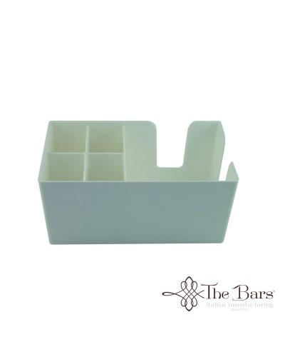 Dispenser da Banco Bar Porta Tovaglioli e Cannucce Bianco The Bars