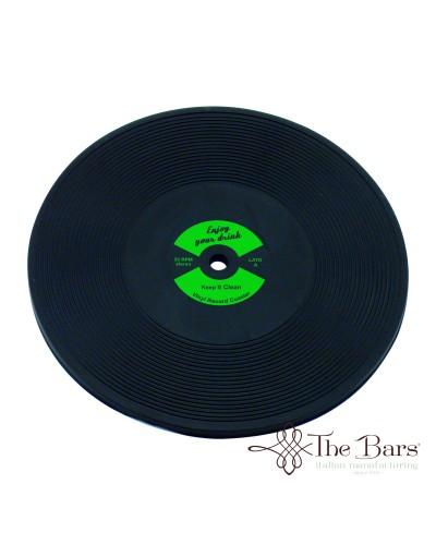 Sottobicchiere Bar Disco LP Verde in Plastica The Bars