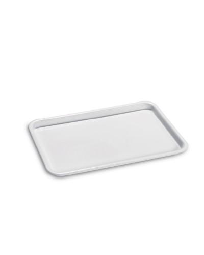 Vassoio Rettangolare Gilly Bianco 46x30 cm Giganplast