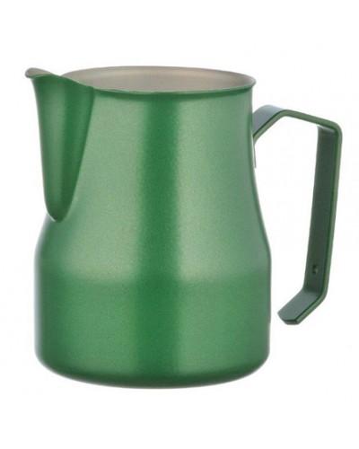 Lattiera Professionale Verde Acciaio Inox 50 cl Motta