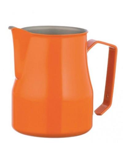 Lattiera Professionale Arancione Acciaio Inox 35 cl Motta