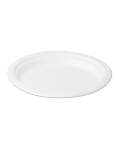 Oval Plate Cellulose pulp 26x19 cm 50 pcs