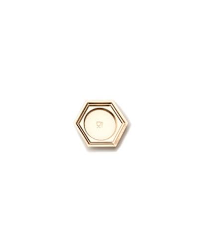 Vassoi Mignon Oro Esagonali 7 cm 100 pz Poloplast