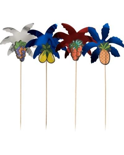 Stecchini Party Palm Leaf 19,5 Cm 50 Pz