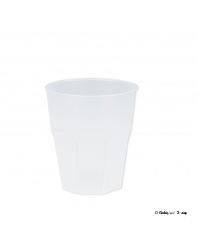 Bicchieri Cocktail Ottagonali Trasparenti 350 cc 20 pz