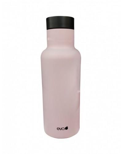 Bottiglia Termica Isolante Baby Rosa Opaco 450 ml Eva