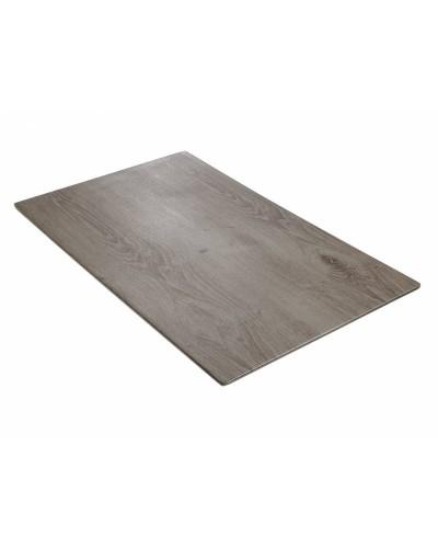 Vassoio Wood Grigio in Melamina GN 1/1 53x32 cm Leone
