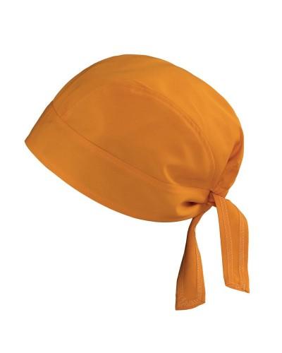 Bandana Copricapo Mango Arancione Giblors