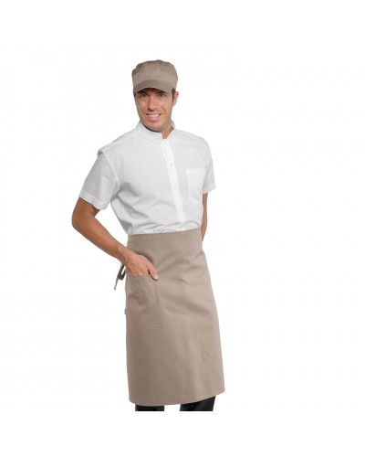 Grembiule Cameriere Dakar Tortora Isacco