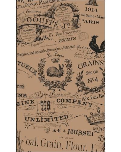 Carta Antigrasso Avana 20x35 cm 500 pz Le Cartine Vintage