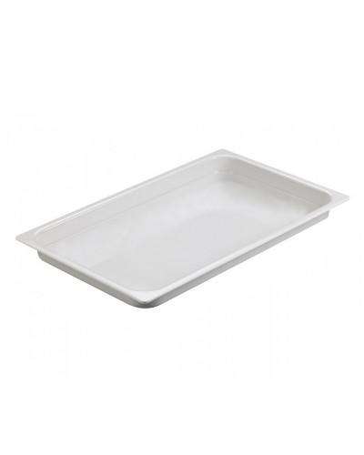 Vassoio Gastronorm 1/1 Ambra Bianco 53x32,5x2
