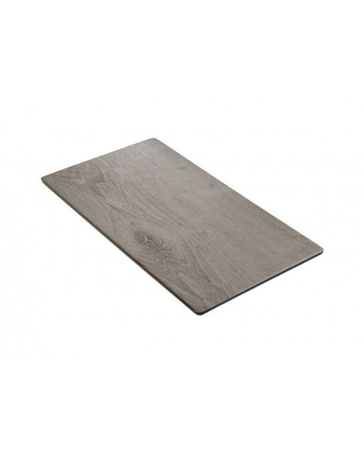 Vassoio Piatto Wood Grigio Melam Gn1/2 32x26x1,5h1