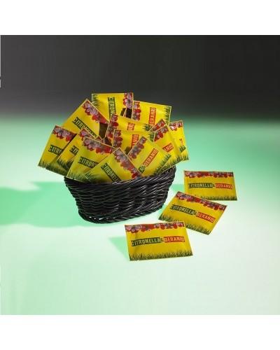 Salviette Profumate alla citronella e Geranio Antizanzara 100 pz Leone