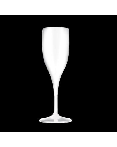 Calice Flute Infrangibile Bianco 150 Cc Bianco