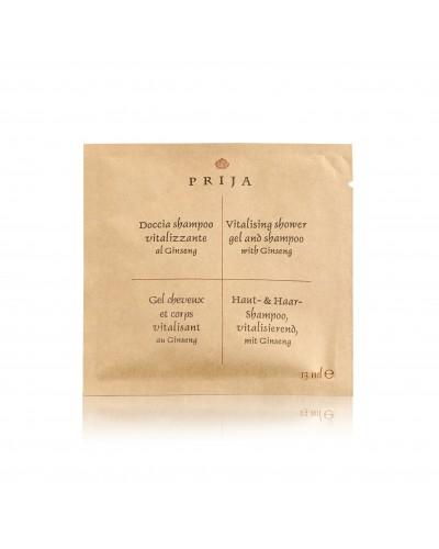 Bustina Doccia Shampoo al Ginseng da 13 ml Prija 500 pz GFL