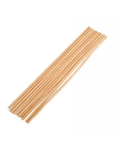 Stecconi bamboo zucchero filato 40 cm 100 pz tondi