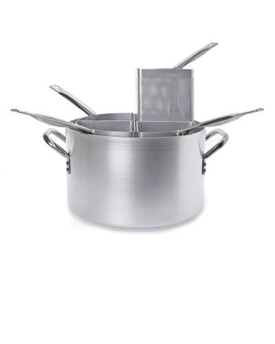Cuocipasta Alluminio Alto con 4 Spicchi Ø 40 cm H. 25 cm Ballarini