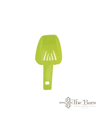 Paletta Ghiaccio Forata Verde Fluo 10 oz Dry Ice Scoop Barman The Bars