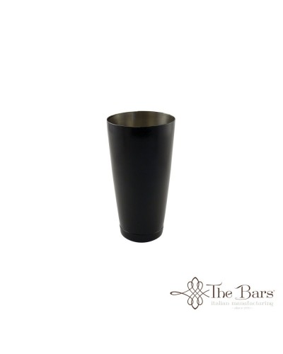 SHAKER BILANCIATO NERO ACCIAIO 28 oz MIXING TIN THE BARS