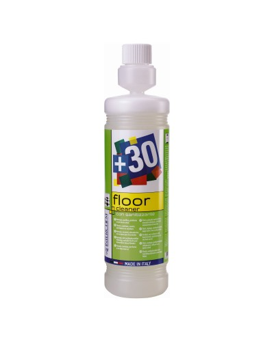 DETERSIVO SANIFICANTE PAVIMENTI CONCENTRATO +30 FLOOR CLEANER 1 lt INTERCHEM