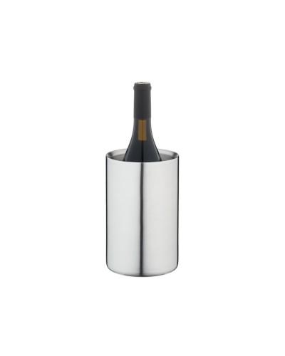Glacette Termica Raffredda Bottiglie Vino Acciaio Inox 12x19,5 cm Eva