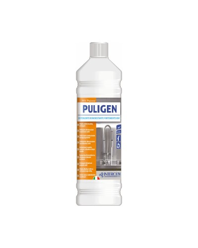 DETERSIVO DISINCROSTANTE CALCARE PULIGEN 1 lt INTERCHEM