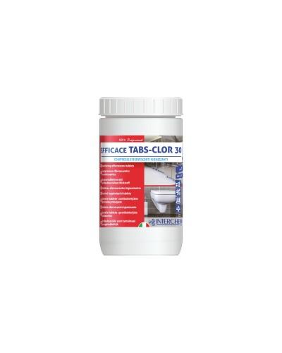 Detergente Disinfettante in Pastiglie al Cloro Tabs 30 1kg Interchem