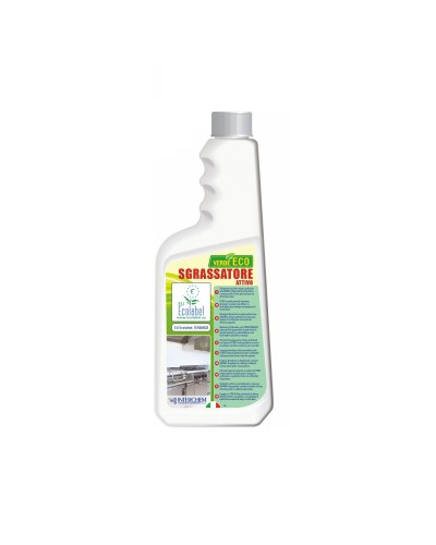 DETERSIVO SGRASSATORE CUCINA VERDE ECO 750 ml ECOLABEL INTERCHEM