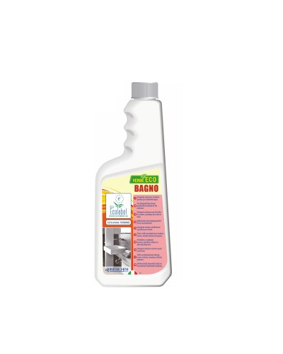 DETERSIVO DISINCROSTANTE BAGNO VERDE ECO 750 ml ECOLABEL INTERCHEM
