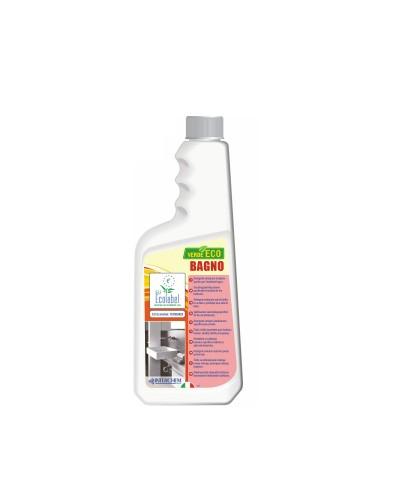 Detergente Disincrostante Bagno Verde Eco 750 ml Ecolabel Interchem