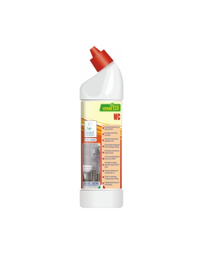 DETERSIVO DISINCROSTANTE BAGNO WC VERDE ECO 750 ml ECOLABEL INTERCHEM