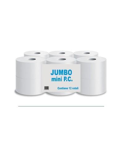 Carta Igienica Jumbo Mini P.o. Divipac 12 Rt.