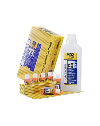DETERSIVO PAVIMENTI FLOREALE MD2 PLUS 40 ml 6 pz + 1 FLACONE INTERCHEM