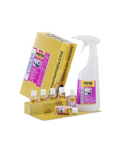 Kit 6 Kit Disincrostante Rapido MD10 40 ml e Flacone Dosatore Interchem