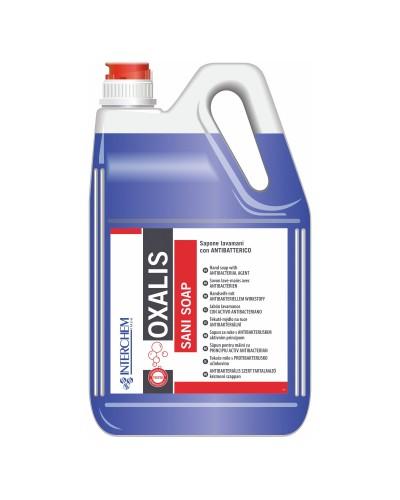 Sapone Oxalis Sani Soap Con Antibatterico Kg. 5