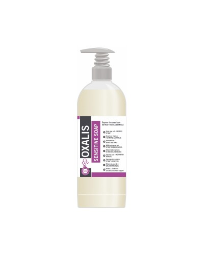 SAPONE LIQUIDO MANI SENSIBILI OXALIS SENSITIVE 1 lt INTERCHEM