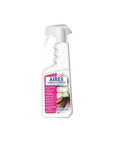 Deodorante Ambienti Aires Vaniglia Sandalo 750 ml Interchem