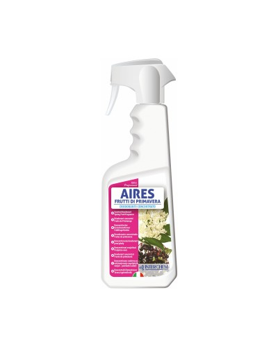 Deodorante Ambienti Aires Frutti di Primavera 750 ml Interchem
