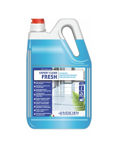 DETERSIVO PAVIMENTI PROFUMATO EXPERT CLEAN FRESH 5 kg INTERCHEME