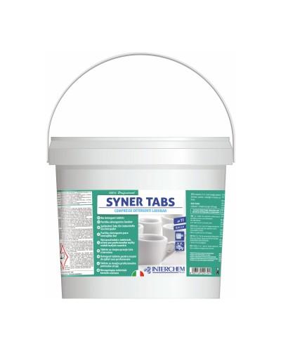 Detergente Lavatazzine a Pastiglie Syner Tabs 150 pz 3 kg Interchem
